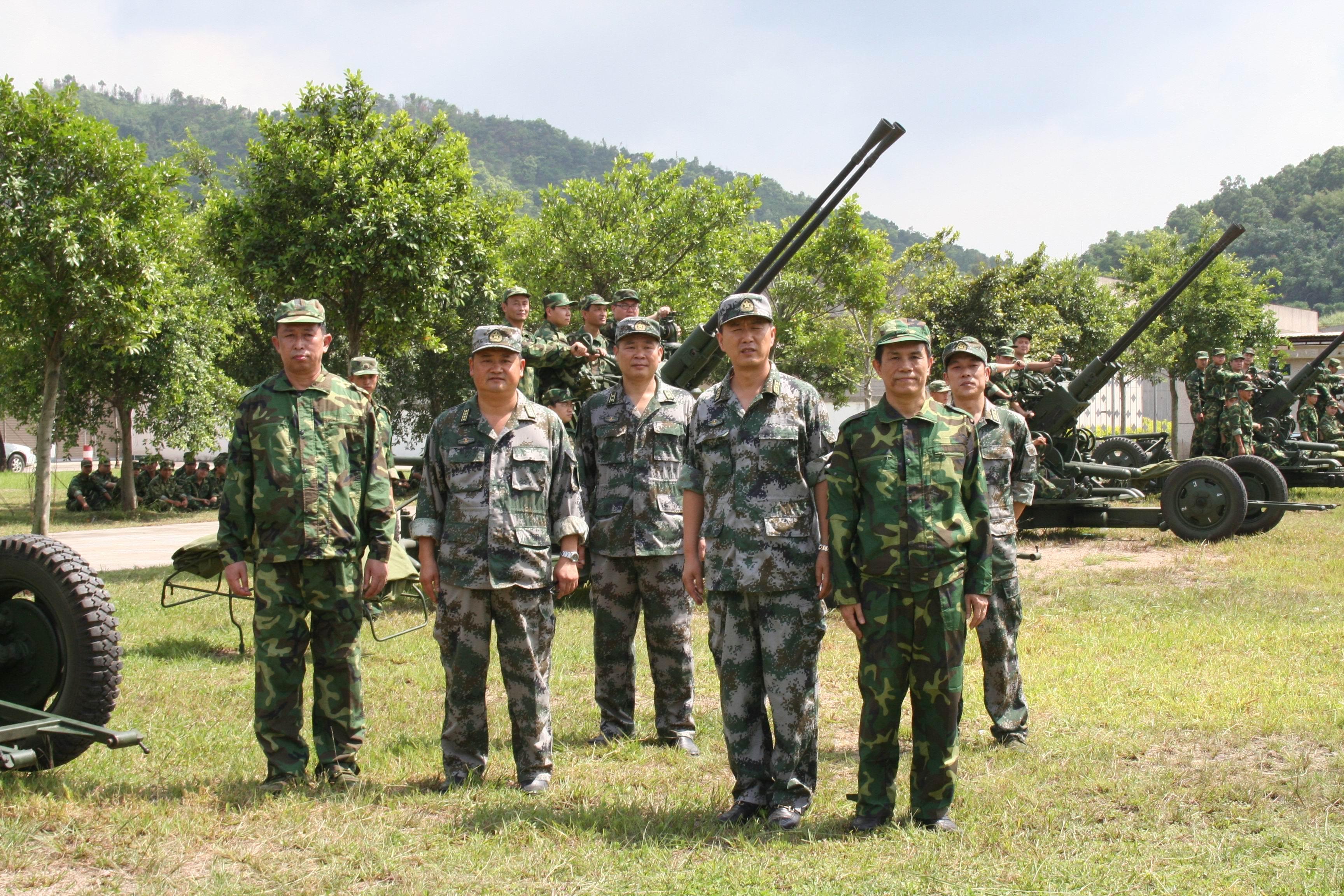 体验部队军营生活