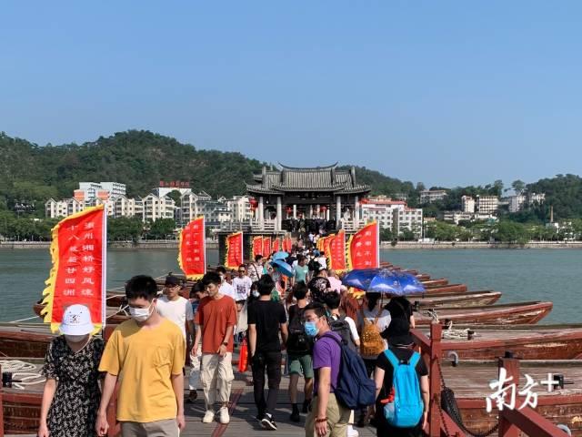 全域旅游创建显成效,这个假期逾90万游客做客湘桥